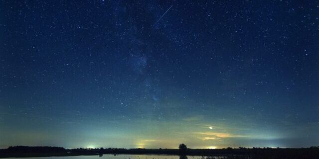 Sternennacht im Wattenmeer